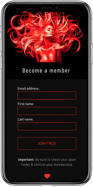 iPhone Mockup | Red Door Members